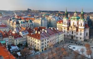 Староместская площадь вид с ратуши
