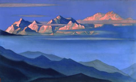 Канченджанга - в переводе - «пять снежных сокровищ»